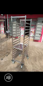 Bread Trolley Rack. Rotary Oven Rack | Industrial Ovens for sale in Lagos State, Ojo
