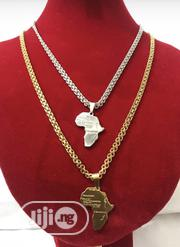 Map Of Africa Pendant Chain   Jewelry for sale in Oyo State, Ibadan