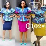 Peplum Blouse and Skirt (Plus Size) | Clothing for sale in Lagos State, Alimosho