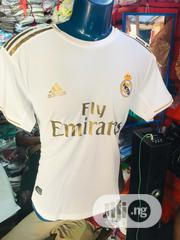 Real Madrid 2019/20 Home Jersey | Clothing for sale in Abuja (FCT) State, Maitama
