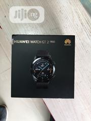 Huawei Watch GT 2 46mm Black Fluoroelastomer Strap | Smart Watches & Trackers for sale in Lagos State, Ikeja