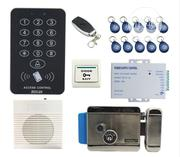 Access Control Kit Keypad +Doorbell + Remote+Power Box + Exit Button | Home Appliances for sale in Lagos State, Ikeja