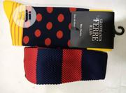 Set of Red and Blue Strip Tie With Socks | Clothing Accessories for sale in Lagos State, Lagos Island
