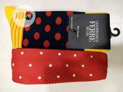 Set of Red Tie With White Dots and Socks | Clothing Accessories for sale in Lagos State, Lagos Island