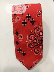 Quality Designers Red And Black Vintage Tie | Clothing Accessories for sale in Lagos State, Lagos Island
