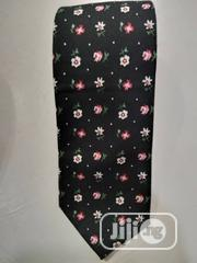 Quality Designers Black Flowered Vintage Tie | Clothing Accessories for sale in Lagos State, Lagos Island