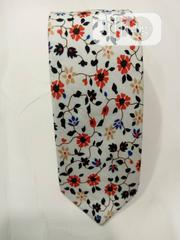 Quality Designers White Flowered Vintage Tie | Clothing Accessories for sale in Lagos State, Lagos Island