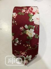Quality Designers Red Flowered Vintage Tie | Clothing Accessories for sale in Lagos State, Lagos Island