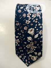 Quality Designers Blue Flowered Vintage Tie | Clothing Accessories for sale in Lagos State, Lagos Island