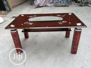 Paded Brown Glass Table | Furniture for sale in Lagos State, Ojo