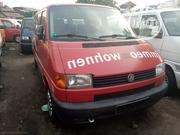 Foreign Used Volkswagen Transporter Bus Red   Buses & Microbuses for sale in Lagos State, Apapa