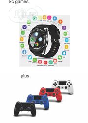 Ps4 Controller With Original Smart Watches 2 In 1 | Smart Watches & Trackers for sale in Lagos State, Ipaja