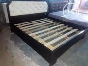 6by6 Bed Frame With a Bedside Drawer | Furniture for sale in Lagos State, Ajah