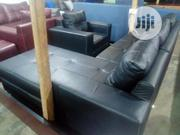 L Shaped Leather and a Single | Furniture for sale in Lagos State, Ajah