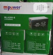 200ah 12volts Mpower Battery | Solar Energy for sale in Lagos State, Ojo