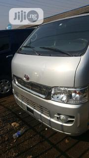 Toyota Hiace Bus 2013 Ash Silver | Buses & Microbuses for sale in Lagos State, Oshodi-Isolo