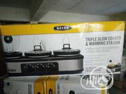 Triple Slow Cooker And Warmer | Kitchen & Dining for sale in Enugu State, Enugu