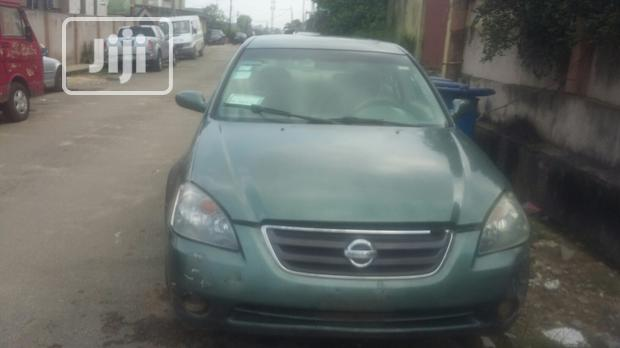 Archive: Nissan Altima 2003 Automatic Green