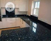 Bleu Pearl Slab For Kitchen Table | Furniture for sale in Lagos State, Orile