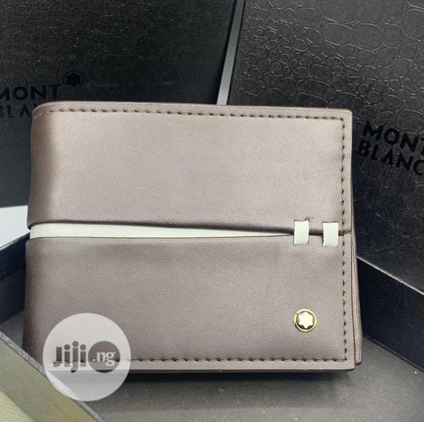Montblanc Leather Wallet for Men's