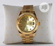Rolex Unisex Gold Wristwatch | Watches for sale in Lagos State, Surulere