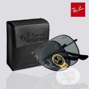 Ray Ban Men's Foldable Black Eyeglass | Jewelry for sale in Lagos State, Surulere