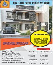 Splendid Estate- Sars Road Behind Suntaal Gas LTD Port Harcourt | Land & Plots For Sale for sale in Rivers State, Port-Harcourt