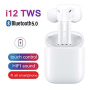 High Quality I12 TWS Earphone Earbud(Factory Tested) | Headphones for sale in Lagos State, Ajah