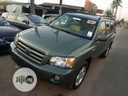 Toyota Highlander Limited V6 2006 Green | Cars for sale in Lagos State, Isolo