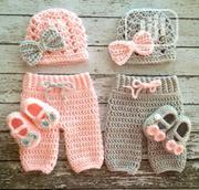 Baby Crochet Suspenders | Children's Clothing for sale in Lagos State, Lagos Mainland