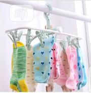 12 Clips Foldable Drying Hanger | Babies & Kids Accessories for sale in Ogun State, Ifo