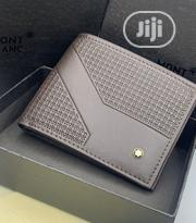 Montblanc Leather Wallet Gray | Bags for sale in Lagos State, Lagos Island
