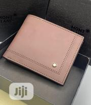 Montblanc Leather Wallet for Men's | Bags for sale in Lagos State, Lagos Island