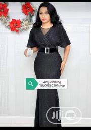 Ladies Dinner Gown in Red, Gold,And Silver   Clothing for sale in Rivers State, Oyigbo