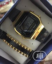 Casio Fashion Wrist Watch and Bracelet | Jewelry for sale in Lagos State, Surulere