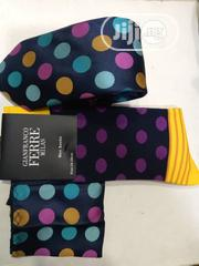 Set of Multicolored Designers Tie and Multi Colour Socks | Clothing Accessories for sale in Lagos State, Yaba