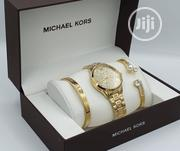 Michael Kors Female Wrist Watch Gold | Watches for sale in Lagos State, Ikeja