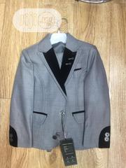 Children Black And Grey Two-piece Suit (Jacket And Trousers) | Children's Clothing for sale in Lagos State, Lekki Phase 1