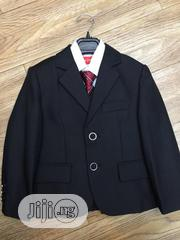 Children Black Two-piece Suit (Jacket And Trousers) | Children's Clothing for sale in Lagos State, Lekki Phase 1