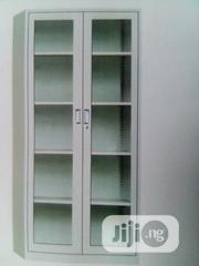 Full Height Glass Bookshelf   Furniture for sale in Abuja (FCT) State, Wuse