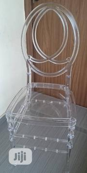 Original Multipurpose Transparent Chivery Chairs in Stock | Furniture for sale in Lagos State, Ojo