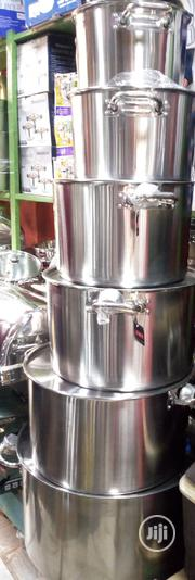 5in 1 High Quality Industrial Cooking Pot | Restaurant & Catering Equipment for sale in Lagos State, Lagos Island