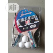 3 In 1 Fitness Table Tennis Bat And 3 Eggs With Net And Post | Sports Equipment for sale in Lagos State, Surulere
