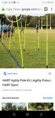 Brand New Football Agility Pole | Sports Equipment for sale in Surulere, Lagos State, Nigeria