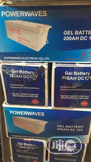 200ah 12volts Power Waves Solar Battery | Solar Energy for sale in Lagos State, Ojo