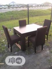 Four Sitter Dining Set Brown | Furniture for sale in Lagos State, Ajah