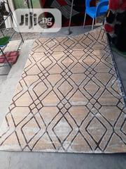 Quality 5×7 Gold With Brown Center Rug   Home Accessories for sale in Lagos State, Yaba