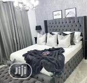6by6 Fully Padded Bed Frame With Ottoma | Furniture for sale in Lagos State, Ajah