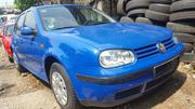 Volkswagen Golf 1.6 2001 Blue | Cars for sale in Lagos State, Apapa