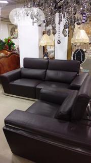 6 Seater Executive Italian Leather Sofa | Furniture for sale in Abuja (FCT) State, Wuse II